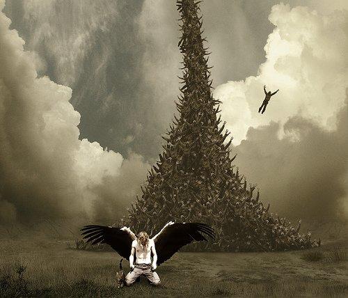 angels and demons battle art - photo #48