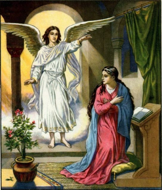 Gabriel and the Virgin Mary « angels-angelology.com