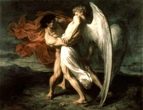 Angels And Demons Fighting In The Bible
