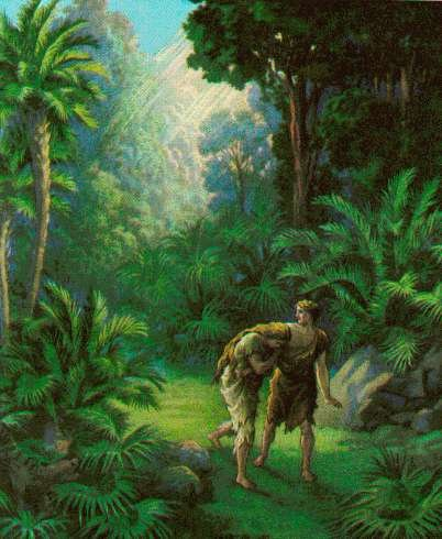 Adam And Eve Find Themselves In A Bind. Their God, Their Protector, Their  Benefactor, Not Only Has Expelled Them From Their Home In Paradise; ...