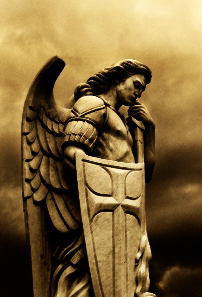 Michael the archangel angels for Warrior bible verse tattoos